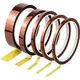 Kapton Tape Hittebestendig plakband elektronica zelfklevende isolatietape hoge temperaturen capton tape 3 mm 5 mm 6 mm 12 mm