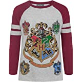 Harry Potter Hogwarts Girl'S Raglan T-Shirt