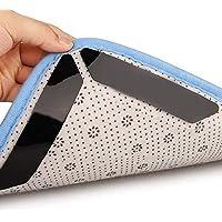 HIQE-FL Teppichgreifer Antirutsch,16 StückTeppichunterlage,Wiederverwendbar Teppich Aufkleber,Antirutschmatte für…