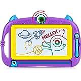 Peradix Lavagna Magnetica per Bambini - Tavola da Disegno Cancellabile Lavagnetta Magica- Giocattolo Educativo e Creativo a 4