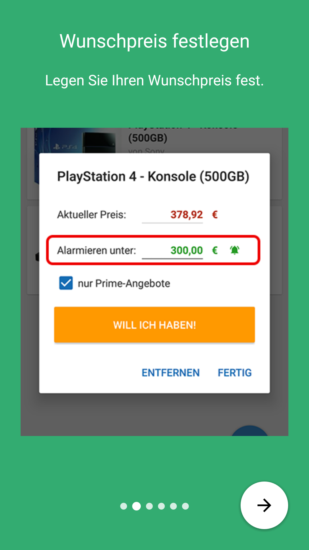ce31f2ff3a32cc Der Shopping Preisalarm  Amazon.de  Apps für Android