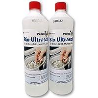 PANDACLEANER® nettoyeur à ultrasons pour bain à ultrasons - concentré pour lunettes, bijoux, produits dentaires, or…