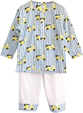 Frangipani Unisex Cotton Italian Job Pyjama Set