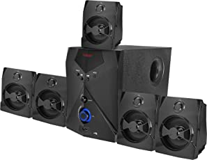 Tecnia Atom 504 Bluetooth 5.1 Channel Home Theater Speaker System