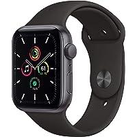 Novità AppleWatch SE (GPS, 44mm) Cassa in alluminio grigio siderale con Cinturino Sport nero