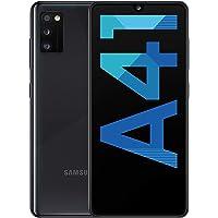 Samsung Galaxy A41 Smartphone débloqué (Super AMOLED - Double SIM - 4 Go RAM, 64 Go ROM - Android 10.0) Noir
