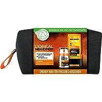 L'Oréal Men Expert Geschenkset für Männer, Mit Duschgel und 24h Feuchtigkeitspflege, Mit Taurin, Minze sowie Vitamin C…
