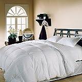 Hotel Comforter 4 Pcs Set By Valentini, King Size, Stripe Squares D1, White, Microfiber