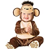 InCharacter Baby Mischievous Monkey Costume