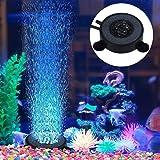IP68 Impermeabile Acquario Fish Tank LED Illuminazione Luci Decorative per Acquari Adatto per pesci dacqua dolce Illuminazione Subacquea dellacquario del LED con Pompa ad Aria piante di corallo