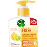 Dettol Fresh Handwash Liquid Soap for effective Germ Protection & Personal Hygiene (protects against 100 illness causing germ