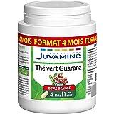 Juvamine BRULE GRAISSE - THE VERT GUARANA 1600mg, MAXI FORMAT 120 gélules