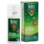 Relec Extra Fuerte Spray Repelente Antimosquitos Fuerte y Eficaz, 9 horas de Protección, Repelente de Insectos para Zonas...