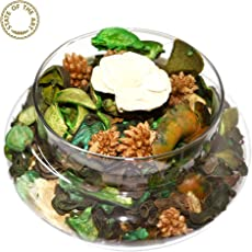 State Of The Art Tempting Showpiece Jasmine, Potpourri Glass Bowl, Jasmine Potpourri, Gift Boxed, Home Dã©Cor Accents.