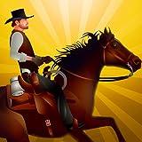 Cowboy Reiten Hindernislauf: das Pferd Dressur Agilität - Gratis-Edition