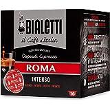 128 capsule caffè Bialetti Caffè d'Italia Roma (Gusto Intenso)