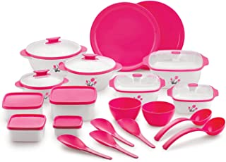 BMS Lifestyle Casserole, Big, Pack of 20,(Pink)