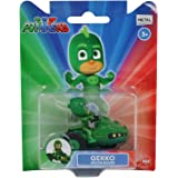 Pj Masks Single Pack Diecast Gekko Moon Rover Vehicle Toy for Kids, Age 3 to 8 Years