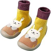 Bulabula and Winter Cartoon Socks Shoes Toddler Shoes Boys Girls First Walk Shoes Thicken Anti Slip
