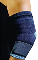 Cheetah Premium Elbow Support Cap With Strap (Medium- For Elbow Circumference Of 25-30 Cm)