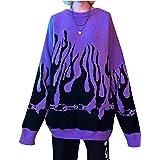 Enfei vrouwen trui lange mouw Vlam vleermuis mouw Jumper oversized casual breien trui tops