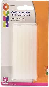 Silverline 476310 MINI Bastoncini di colla colorati 10pk 7.2 x 100 mm