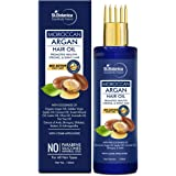 StBotanica Moroccan Argan Hair Oil With Comb Applicator - With Goodness Of 19 Oils - Promotes Healthy, Long, Strong & Shiny H