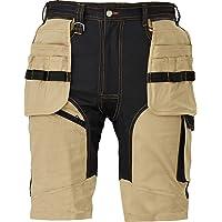 DINOZAVR Keilor Shorts da Lavoro Estive da Uomo in Cotone con Elastan e Tasche Cargo