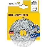 Schellenberg 36103 Riem voor rolluiken voor ramen, systeem Maxi 23 mm riembreedte, 6,0 m, wit
