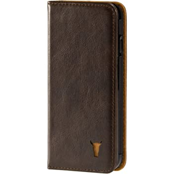 21423e7bbc TORRO Premium Leather Case compatible with iPhone 6S Plus. Genuine Leather  Case/Cover with Stand Function for Apple iPhone 6 Plus / 6S Plus - Dark  Brown