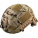 Sharplace Couvre Casque en Nylon Camouflage S/érie Militaire Jeu CS Combat Balistique Arm/ée Paintball Chasse