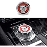 Versnellingsknop Voor Jaguar XFL XJL XE F-PACE Auto Center Control Gear knop Hoofd Decoratieve Pailletten, Auto Interieur Mod