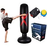 KY Punching Sacco da Boxe da Boxe da Terra - Sacco portapantaloni per bersagli Pesanti/manichino Eccellente per Boxe/Kick Box