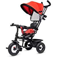 R for Rabbit Tiny Toes Sportz Baby Tricycle for Kids Smart Plug & Play with Canopy,Storage Basket, Parental Control…