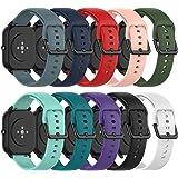 Ruentech - Cinturino di ricambio compatibile con Amazfit GTS/Amazfit GTS 2/Amazfit Bip/Amazfit GTR 42 mm/Samsung Galaxy Watch