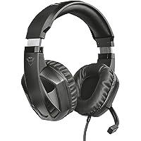 Trust Cuffie Gaming GXT 412 Celaz con Microfono a Scomparsa, 3.5 mm Jack, Filo, Over Ear, Unità Altoparlanti Attive da…