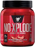 BSN Nutrition N.O.-Xplode Pre Workout Powder with Creatine Monohydrate, Beta Alanine, Caffeine, Vitamin D and Vitamin B…