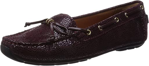 Clarks Women's Dunbar Groove Leather Loafers and Mocassins