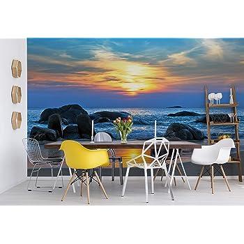 Beautiful Summer White beach Ionian Sea Lefkada Cave Wall Mural Photo Wallpaper