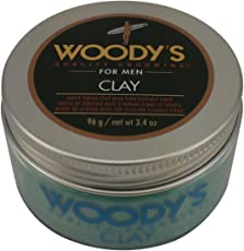 Woody's Matte Finish Clay for Men, St...
