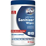 WOW Sanitizer Wipes 80's Canister -70% Alcohol