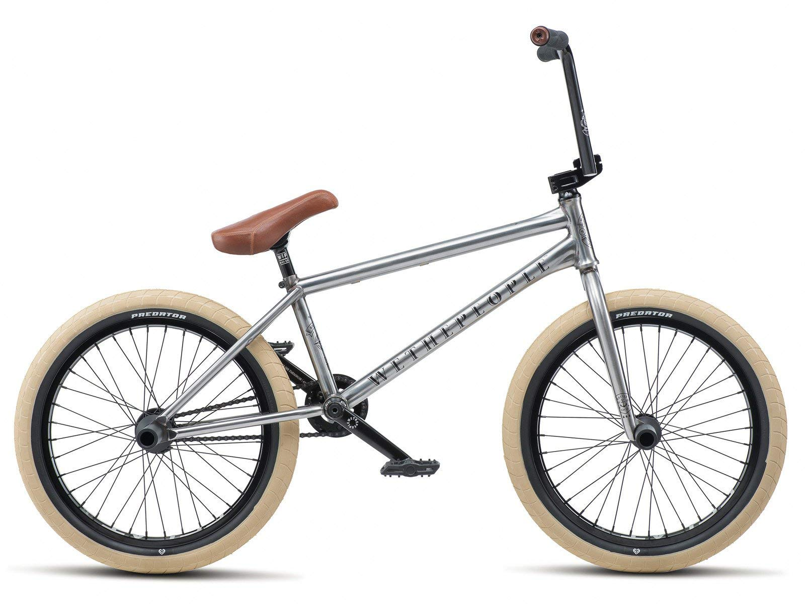 "71KHO3Go 8L - Wethepeople Battleship 20"" 2019 Freestyle BMX Bike (Brushed Raw - Left hand drive)"