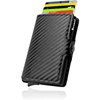 Portafoglio Bronzi® Porta Carte Credito - Portafoglio Uomo Slim Portacarte uomo - Mini Porta Tessere - Protezione RFID…