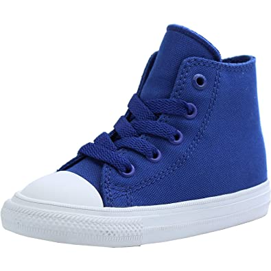 fdea4f45aa6d Converse Chuck Taylor All Star II Infant Sodalite Blue Textile Trainers   Amazon.co.uk  Shoes   Bags