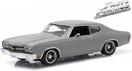"""Doms 1970 Chevrolet Chevelle Ss """"Fast And Furious"""" Movie (2009) 1/43 By Greenlight 86227"""