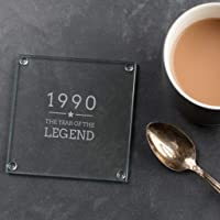 Engraved Glass Coaster -