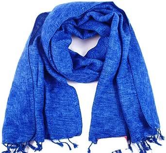 Scialle utilizzabile come sciarpa, 100% in finto pelo di yak del Nepal, prodotto da commercio equo e solidale