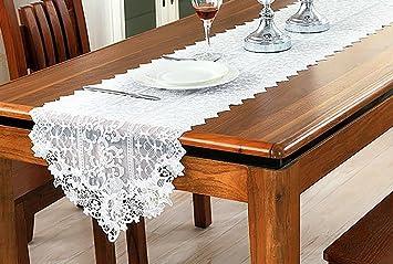 tavolino mobile tv coreano pastorale americana runner pizzo bianco dimensioni 40180cm amazonit casa e cucina