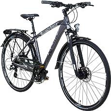 Whistle 28 Zoll Trekkingrad Crossrad Herrenrad 24 Gang 49 cm oder 54 cm