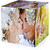 InspirsPanda MultiPhoto Rubik's Cube Game,Custom 6 Photo Cube para marcos de fotos Rubik's Cube,Custom Photo Puzzle Game,Cubo